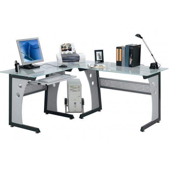 TAVOLO SCRIVANIA Computer Postazione Angolare PC UFFICIO Mod. OFFICE