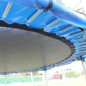 TRAMPOLINO ELASTICO Tappeto Da Giardino Diametro 185 cm BIG6