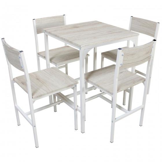 PORTOFINO tavolo e 4 sedie