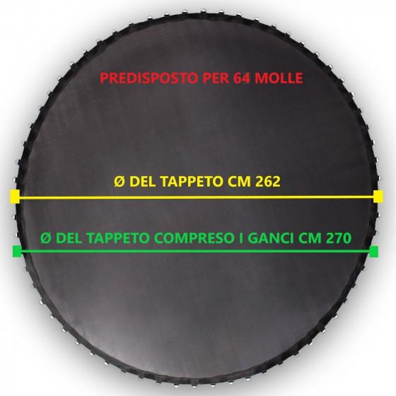 TAPPETO per trampolino elastico diametro 305 cm