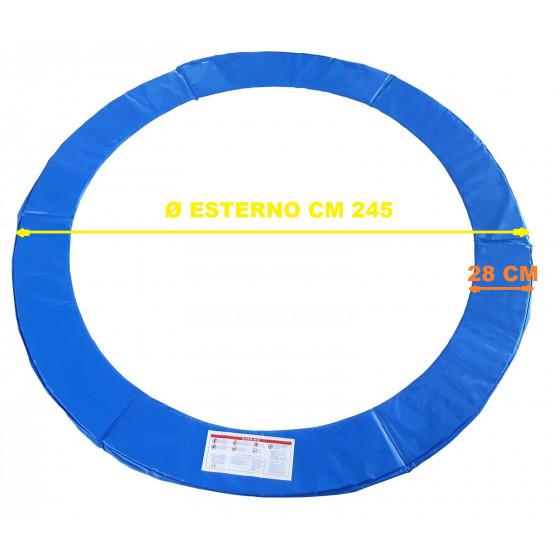 COPRIMOLLE per trampolino elastico diametro 245 cm