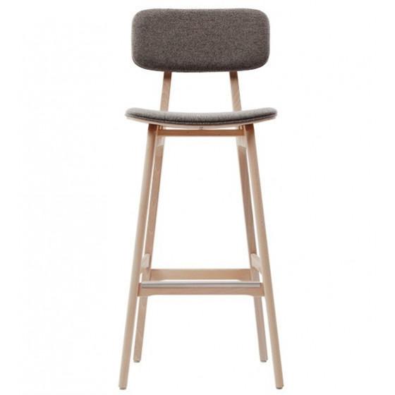 Sgabello Design HANNA SGI Sgabello in legno personalizzabile nelle finiture
