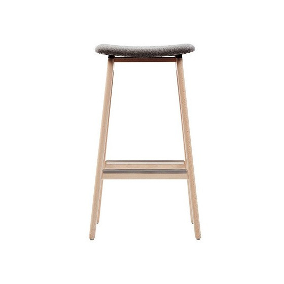 Sgabello Design HANNA GI Sgabello in legno personalizzabile nelle finiture