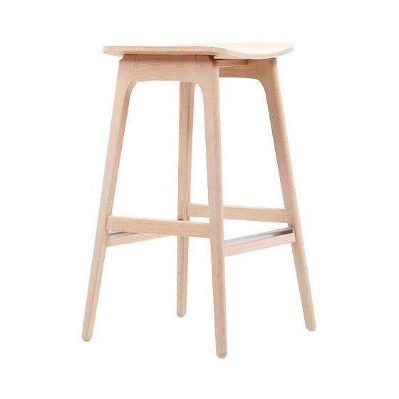 Sgabello Design HANNA G Sgabello in legno personalizzabile nelle finiture
