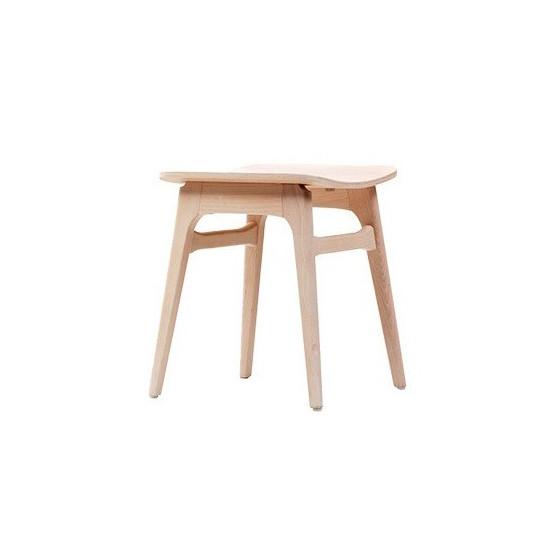 Sgabello Design HANNA GB Sgabello in legno personalizzabile nelle finiture